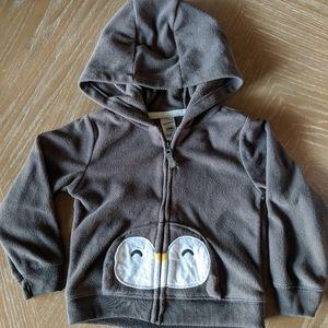 Fleece Penguin Hoodie